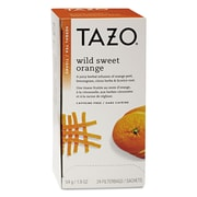 Tazo® Tea Bags, Wild Sweet Orange, 1.9 oz Filterbag, 24/Box (151598)