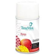 TimeMist® 9000 Shot Metered Air Freshener Refill, 7.5 oz, Mango, 4/Carton (1042657)
