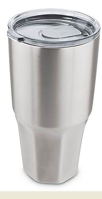Mammoth Large Insulated Stainless Steel Beverage Container 20 Ounce Silver 2537461