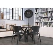 Resol-Barcelona Dd Fiona Chair, White, (30416)