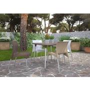Resol-Barcelona Dd New Flash 90 Table, White (30725)