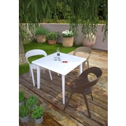 Resol-Barcelona Dd New Dessa 90 Table, Chocolate (30766)