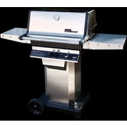 Modern Home Prod 56'' Heritage Natural Gas Grill w/ Drop Down Shelf