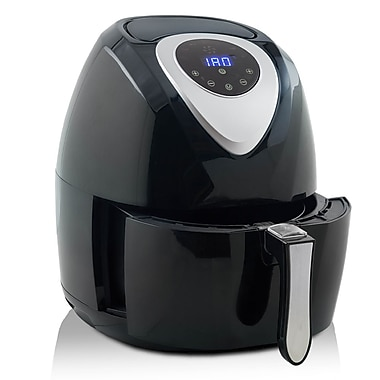 Modernhome digital touch activated air fryer with black Modern home air fryer
