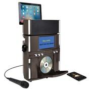 Akai 10 W Bluetooth Front Load CD+G Karaoke System, Black (KS800-BT)