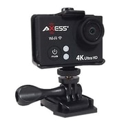 Axess® 3840 x 2160 Ultra HD Action Camera, Black (CS3609)