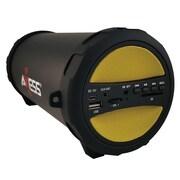 Axess® Thunder Sonic SPBT1041 10 W Indoor/Outdoor HIFI Bluetooth Speaker, Yellow