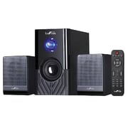 BeFree Sound 20 W 2.1 Channel Surround Sound Bluetooth Speaker System, Black (BFS-15)