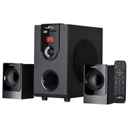 BeFree Sound 20 W 2.1 Channel Surround Sound Bluetooth Speaker System (BFS-30)