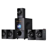 BeFree Sound BFS-440 80 W Bluetooth Speaker System, Black
