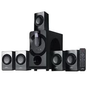 BeFree Sound 80 W 5.1 Channel Surround Sound Bluetooth Speaker System, Black (BFS460)