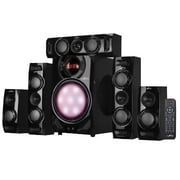 BeFree Sound 90 W 5.1 Channel Surround Sound Bluetooth Speaker System, Black (BFS510C)