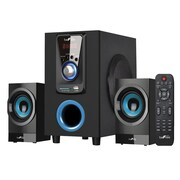 BeFree Sound 30 W 2.1 Channel Surround Sound Bluetooth Speaker System (BFS65)