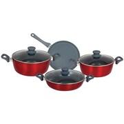 Better Chef® Aluminum 7 Piece Cookware Set, Red (91594706M)