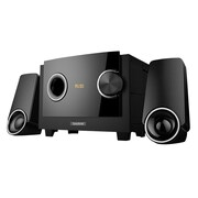 Boytone™ 14 W Bluetooth Multimedia Speaker System, Black (BT3129F)