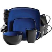 Gibson Home 92260.16 Infinite Glaze 16 Piece Dinnerware Set, Blue