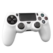 Hyperkin® Tomee M07026-WH Silicone Skin Protective Case for PS4 Controller, White