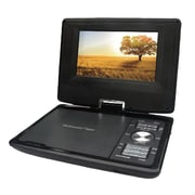 QFX® PDT-307DTV Multimedia Player with TV/USB/SD Card Reader, Black