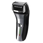 Remington® Rechargeable Intercept Pivot & Flex Men Shaver Beard/Mustache Trimmer, Black (F5800mbhol)