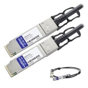 AddOn 00D5810-AO 5 m Black 40GBase-CU QSFP+ to QSFP+ Passive Direct Attach Cable for System Networking RackSwitch G8264