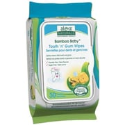 Aleva® Naturals Bamboo Baby Tooth 'n' Gum Wipes, 30/Pack (37960)