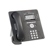 Avaya one-X™ 9630G 6 Lines Refurbished IP Telephone, Charcoal Gray