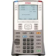 Avaya 1150E Refurbished IP Phone, Graphite/Metallic Silver