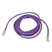 Belkin™ A3L791 10' Purple RJ-45 to RJ-45 Male/Male Cat5e UTP Ethernet Patch Cable