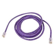 Belkin™ A3L980 2' Purple RJ-45 to RJ-45 Male/Male Cat6 Snagless Ethernet Patch Cable
