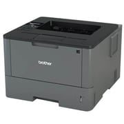 Brother HL-L5000D Monochrome Laser Printer, Black/Gray