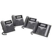 Cisco™ CP-7841-K9-RF 7841 4 Lines Refurbished IP Phone, Charcoal