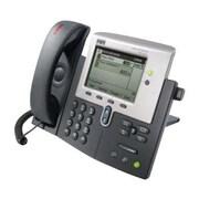 Cisco™ 7941G-GE 2 x Total Line Refurbished IP Phone, Dark Gray/Silver