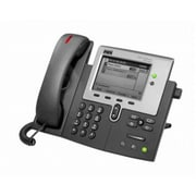 Cisco™ CP-7941G-RF 2 x Total Line Refurbished Unified IP Phone, Dark Gray/Silver