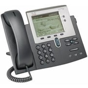 Cisco™ 7942G 2 x Total Line Refurbished IP Phone, Dark Gray/Silver