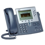 Cisco™ CP-7960G-RF 6 x Total Line Refurbished Unified IP Phone, Dark Gray/Silver