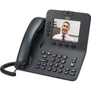 Cisco™ CP-8945-K9-RF 8945 4 Lines Refurbished Unified IP Phone, Black