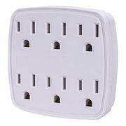 CyberPower® GT600 1875 W NEMA 5-15P to NEMA 1-15R Grounded Wall Tap, White