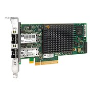 HP® Dual Port 10 Gigabit Ethernet Card for Server (NC550SFP)