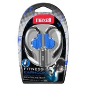 Maxell® Fitness Over-the-Ear Earhook with Mic, Blue (EH-131BLU)