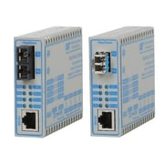 Omnitron FlexPoint 4340-1 10/100 RJ-45 to Fast Ethernet Fiber Media Converter