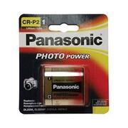 Panasonic 6 V Photo Lithium Battery, Gold (CR-P2PA/1B)