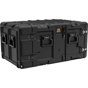 Pelican Black Polyethylene Rack Mount Case (SUPER-V-7U-SAE)