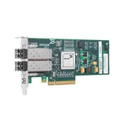Qlogic® Brocade® BR825 5GYTY 8 Gbps Dual Port Fiber Channel PCI Express 2.0 Host Bus Adapter for PowerEdge Server