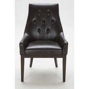 KukaHome Parsons Chair; Brown