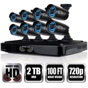 Night Owl 8 Channel Smart HD Video Security System with 2 TB HDD and 8 x 720p HD Cameras (CL-882-720P)
