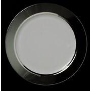 Chef Handler Opulent 7.5'' Super Elegant Plastic Salad Plate 50 Piece Set (Set of 50)