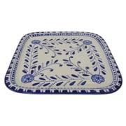 Le Souk Ceramique Azoura Stoneware Square Platter