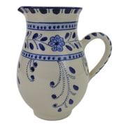 Le Souk Ceramique Azoura Stoneware 68 oz. Pitcher