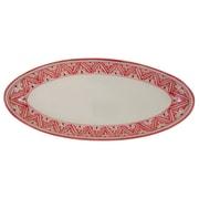 Le Souk Ceramique Nejma Stoneware Oval Platter