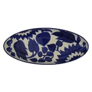 Le Souk Ceramique Jinane Stoneware Oval Platter